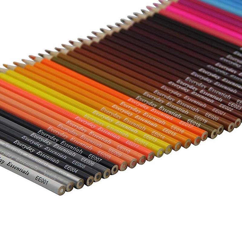 AAAJ-72 Pcs Individual Colors Premium Colored Pencils Set ...