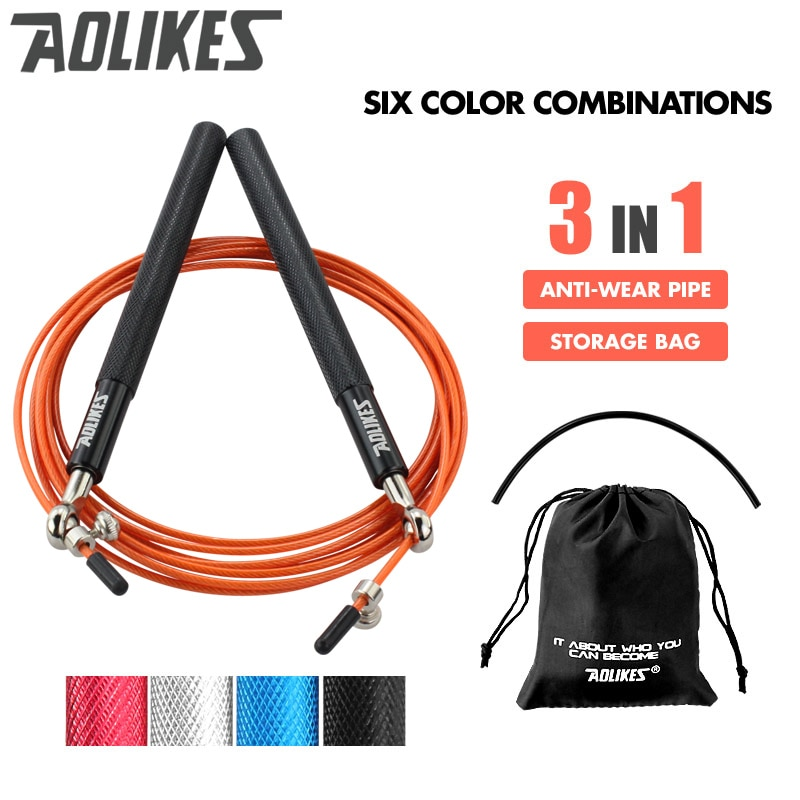 Crossfit Speed Jump Rope Skipping For MMA Boxing Fitness Skip Workout Training