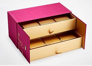 Fabric doubl box