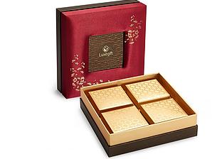Silk gift box